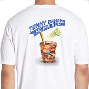 "Tommy Bahama ""home run"" T-shirt"